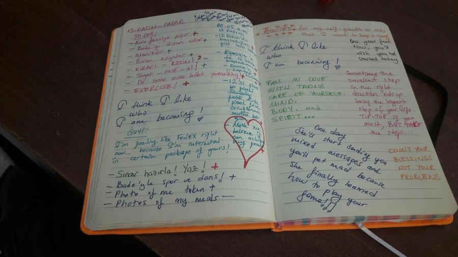 Bullet Journaling (Plan defterinden çok dahafazlası)